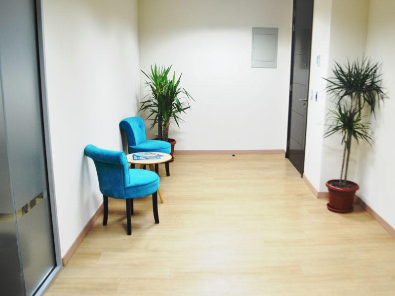 Sala de espera Lofwork.cl