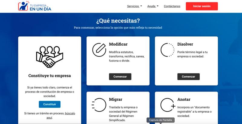 Paso 1 crear una eirl Ingresar a www.registrodeempresasysociedades.cl