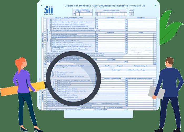 contabilidad evaluación de impuestos mensuales