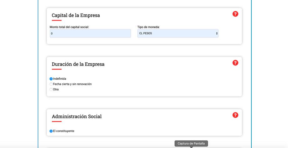 Paso 7 crear una eirl Registra el capital inicial de la empresa